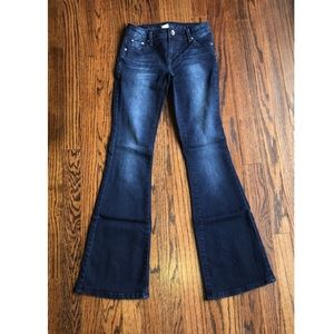 Girls 12S justice flare jeans